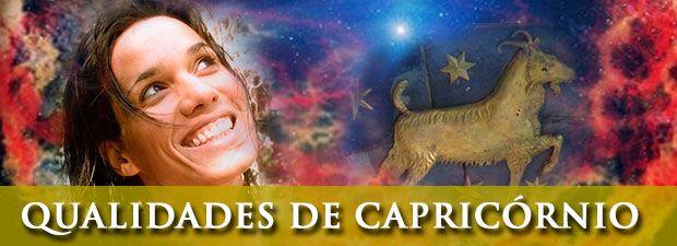 Qualidades de Capricórnio