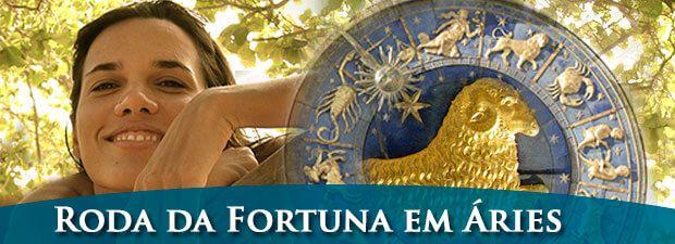 Roda da Fortuna em Áries