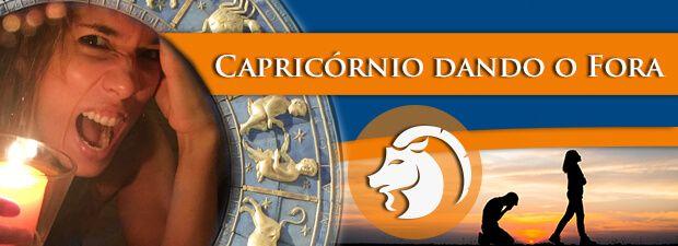 Capricórnio dando o Fora