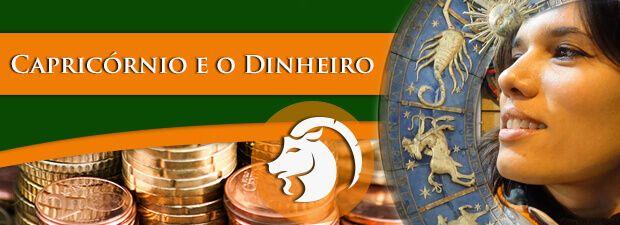 Capricórnio e o Dinheiro