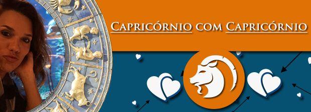 Capricórnio com Capricórnio