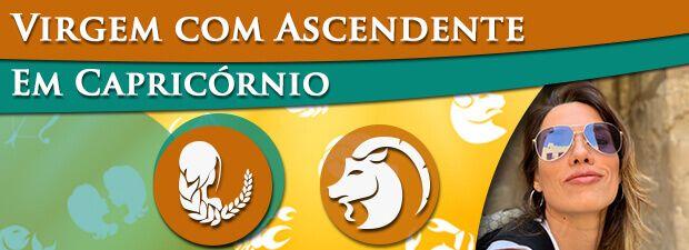 Virgem com Ascendente em Capricórnio